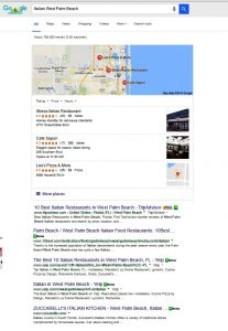 Google Search Results, Italian WPB